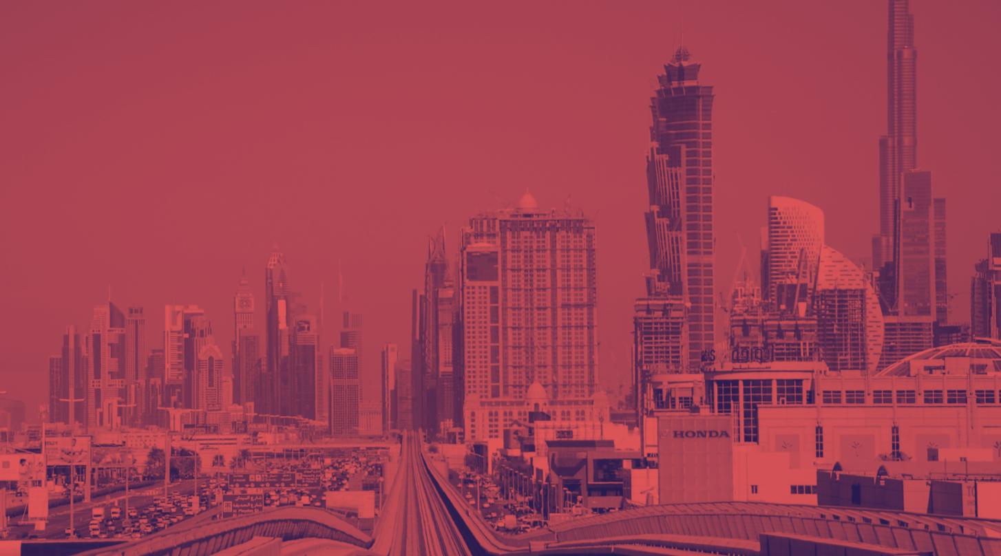 Dubai smog pollution