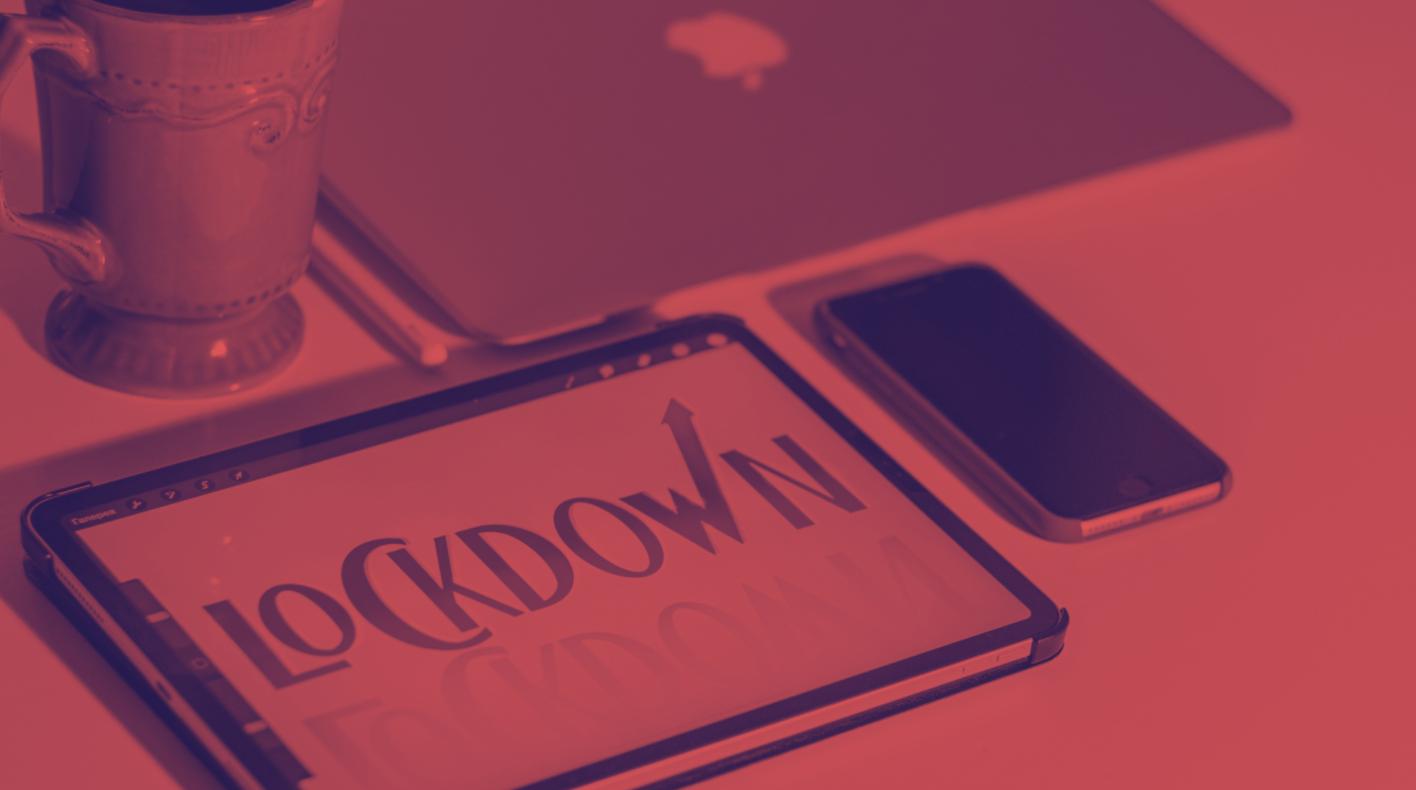 covid lockdown iPad