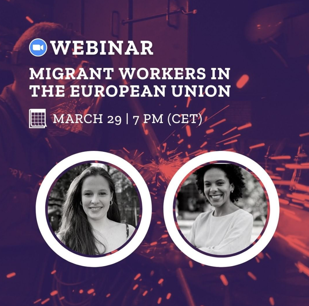 Migrant Workers in EU Webinar poster