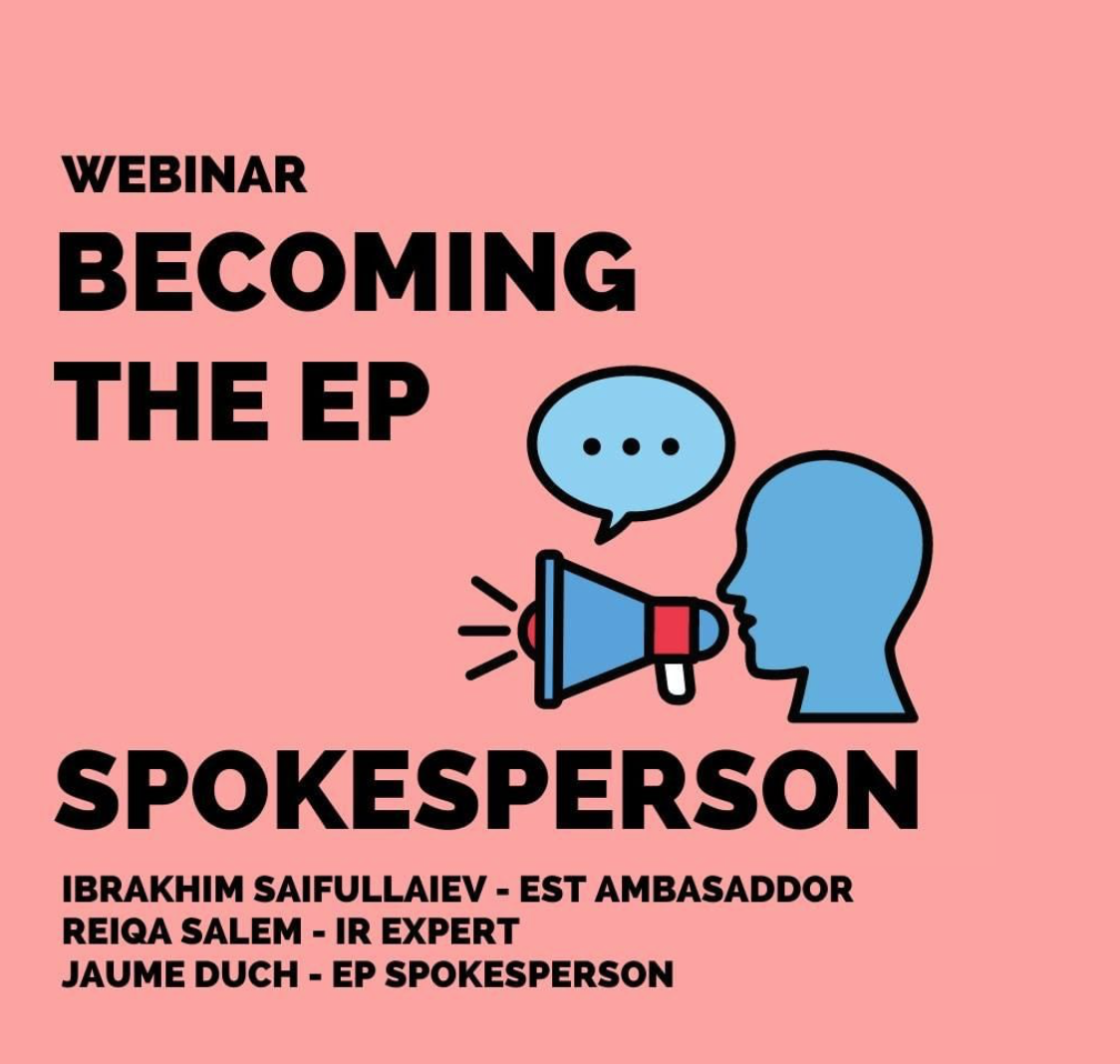 Becoming the EP Spokesperson Poster