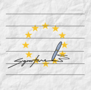 hypothetical logo of the application Petitioning
